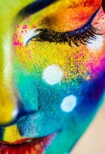gezicht kleur
